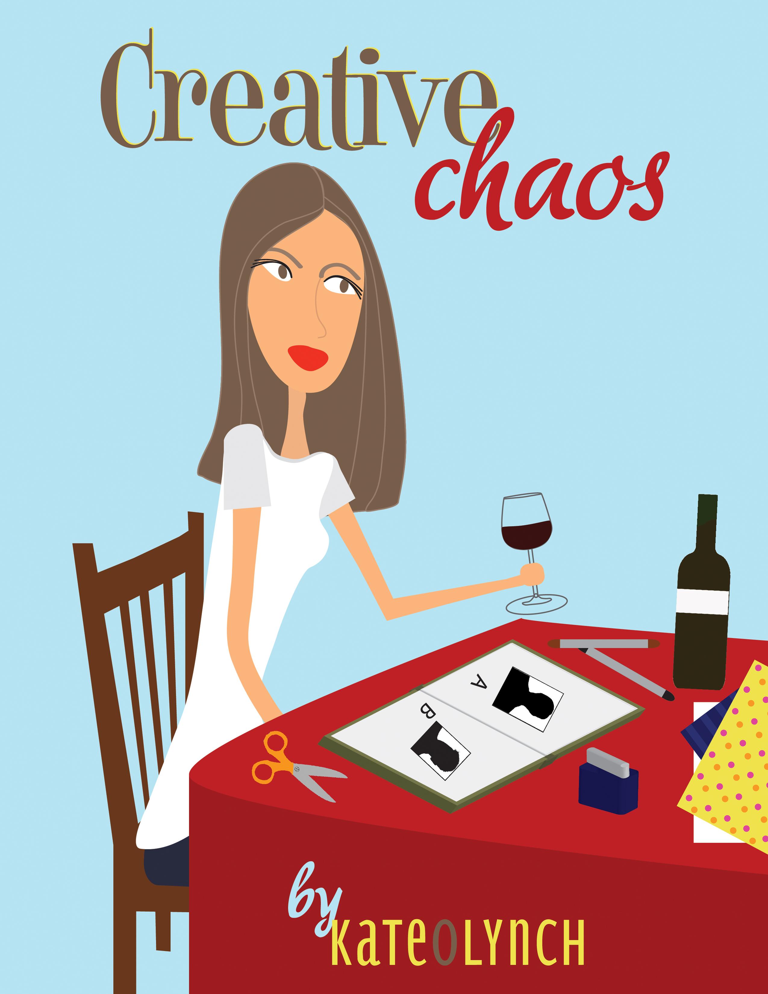 Creative Book Cover Quest : Creative chaos cover artwork beachsmith